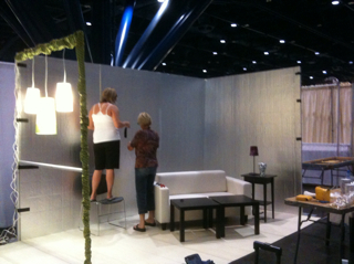 Booth is being born