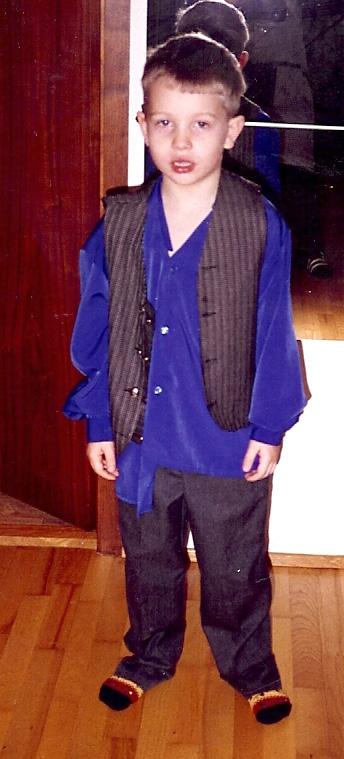 Atli dressed