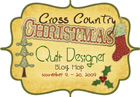Logo cross country christmas tiny