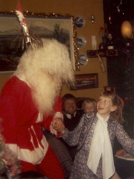 Dancing w santa