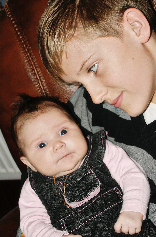 Bjarki og Anika