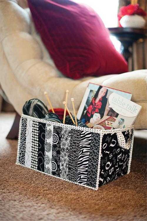 Fabric box medium