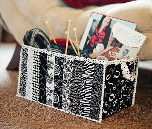 Fabric box medium sm