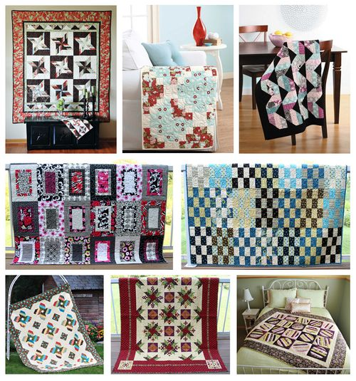 Quilt sale collage
