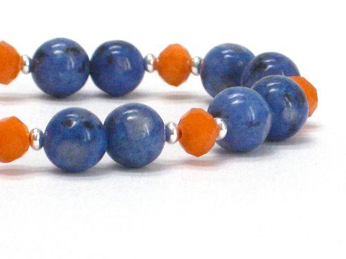 Tang navy bracelet