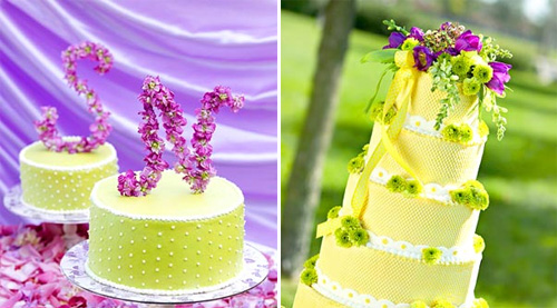 Green-purple-wedding-cakes