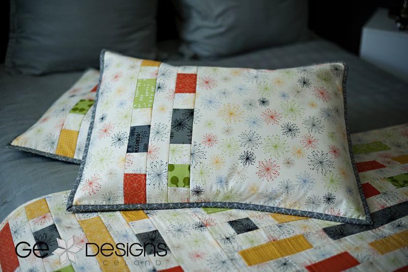 GE FFHome Brick House Pillowcases