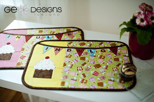 GE FFHome Sweet Treat placemat