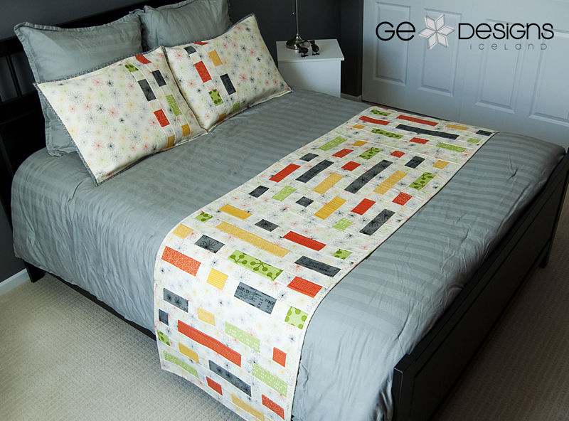 GE FFHome Brick House bed runner