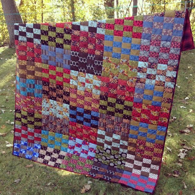 Yvonnes Steamy Windows quilt