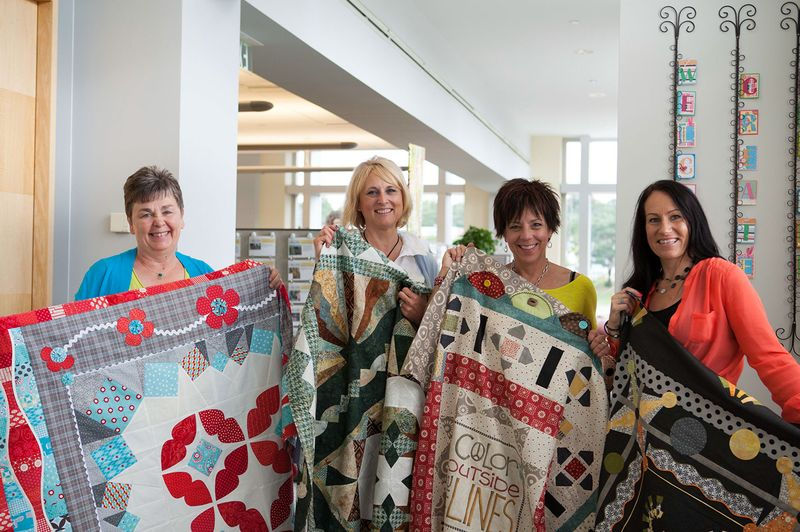 Rebels with quilts